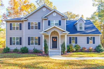 Swift Creek Estates Single Family Home Sold: 17401 Creekbed Road