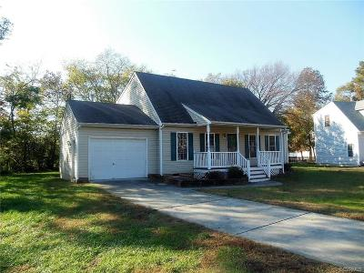 Henrico VA Single Family Home Sold: $105,000