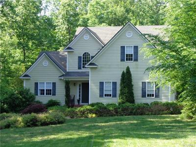 Swift Creek Estates Single Family Home Sold: 17418 Creekbed Road