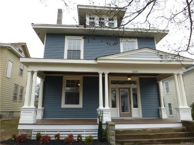 Single Family Home Sold: 2609 Barton Avenue