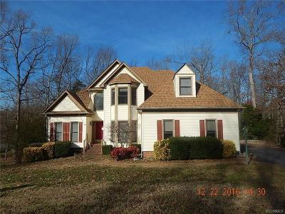 Chester VA Single Family Home Sold: $207,500