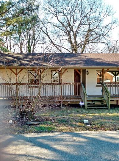 Hopewell VA Single Family Home Sold: $64,500