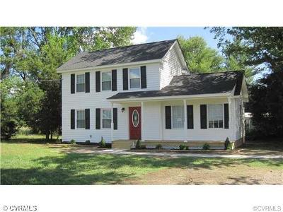 Single Family Home Sold: 3391 Old Church Road