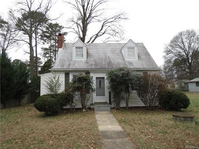 Single Family Home Sold: 5620 Chamberlayne Avenue