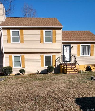 Hopewell VA Single Family Home Sold: $104,950