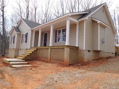 Powhatan VA Single Family Home Sold: $236,500
