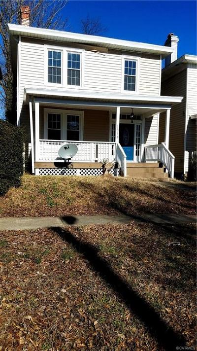Richmond VA Single Family Home Sold: $132,500