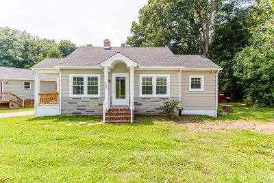 Mechanicsville Single Family Home For Sale: 7255 Edgeworth Road