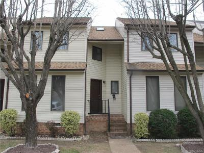 Highland Springs VA Condo/Townhouse Sold: $115,000