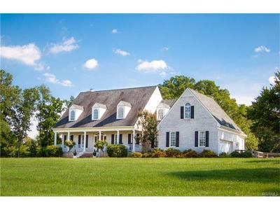 Goochland County Single Family Home For Sale: 1170 Rock Castle Road