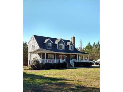 Disputanta VA Single Family Home For Sale: $249,500