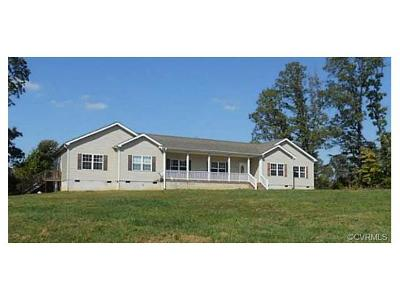 Powhatan County Single Family Home For Sale: 1529 Cook Road