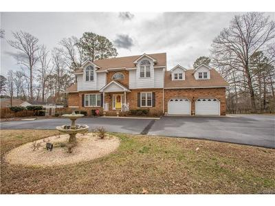Colonial Heights Single Family Home For Sale: 100 Swift Creek Lane