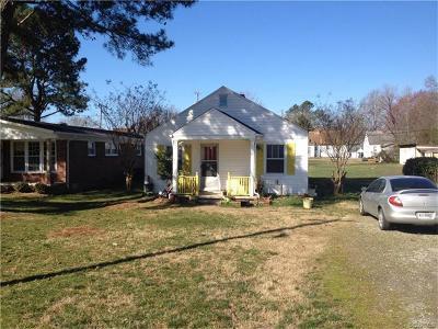 Crewe Single Family Home For Sale: 38 Ridge Road