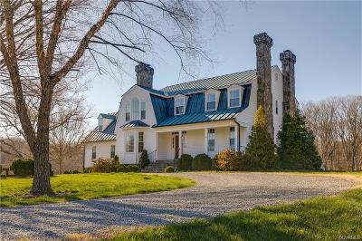 Goochland Single Family Home For Sale: 1614 Carriage Drive