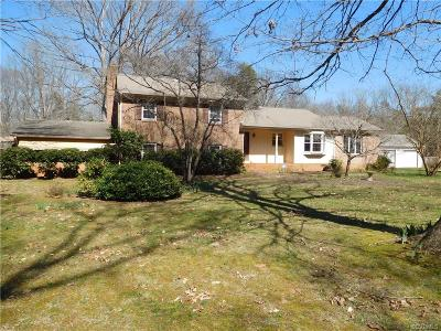 Powhatan VA Single Family Home Sold: $300,000