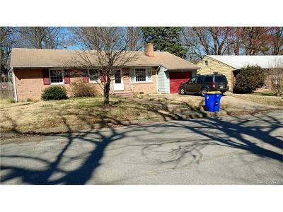 Hopewell VA Single Family Home For Sale: $137,000