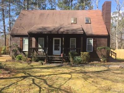 Midlothian Single Family Home For Sale: 4242 Frederick Farm Dr
