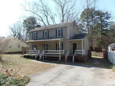 North Chesterfield VA Single Family Home Sold: $121,500