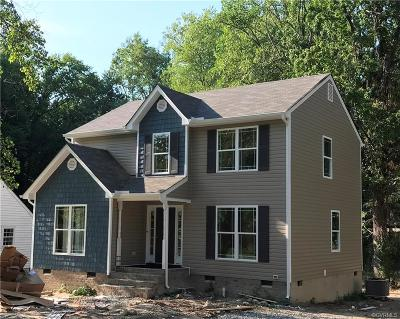 Richmond Single Family Home For Sale: 1829 Westhill Road