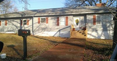 Hopewell VA Single Family Home Sold: $149,950