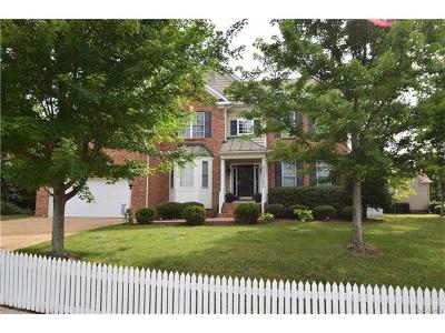 Chesterfield County Single Family Home For Sale: 1207 Bach Lane