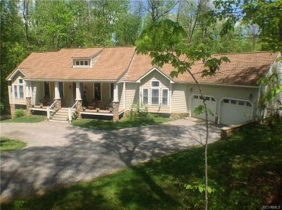Goochland County Single Family Home For Sale: 3668 Whitehall Road