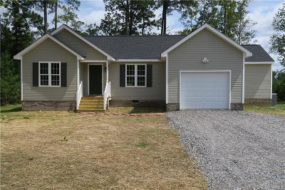 South Chesterfield Single Family Home For Sale: 21136 Baileys Lane