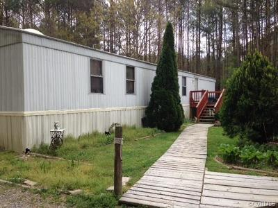 Dinwiddie Single Family Home For Sale: 12121 Boydton Plank Road