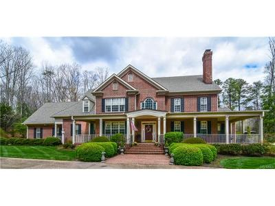 Goochland County Single Family Home For Sale: 1640 Mellick Ridge Road