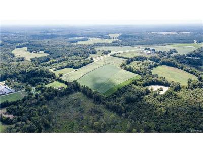 Amelia County Residential Lots & Land For Sale: Circle -patrick Henry Highway