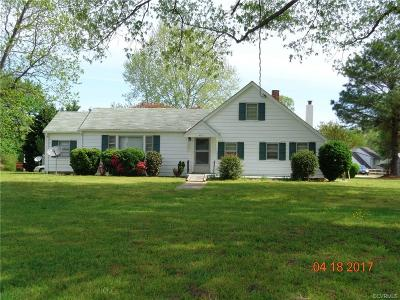 Chester Single Family Home For Sale: 14301 Happy Hill Road