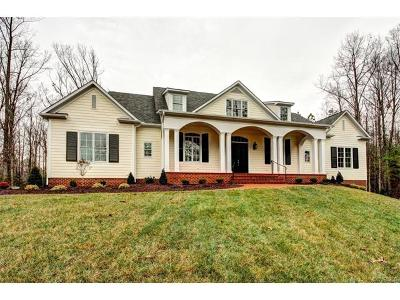 Powhatan County Single Family Home For Sale: 3078 Braehead Road