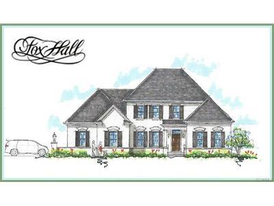 Richmond Single Family Home For Sale: 12900 Holmbank Lane