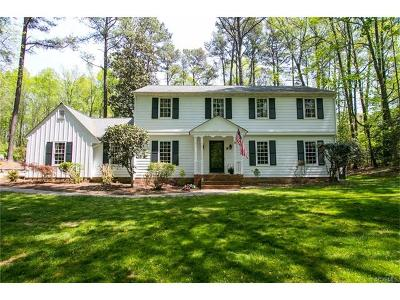 Midlothian Single Family Home For Sale: 3409 Boswell Road