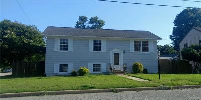 Hopewell VA Single Family Home Sold: $141,000