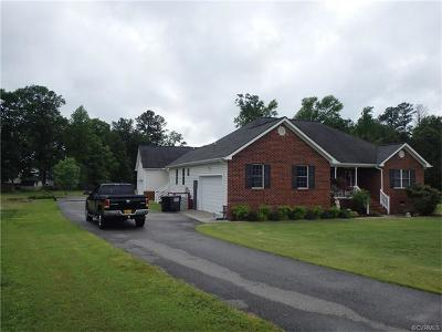 Prince George VA Single Family Home For Sale: $378,000