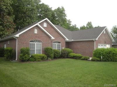 Hopewell Single Family Home For Sale: 515 Cobblestone Drive