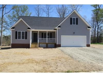 South Chesterfield Single Family Home For Sale: 21125 Baileys Lane