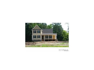 Dinwiddie Single Family Home For Sale: Lot 6 Westbriar Lane
