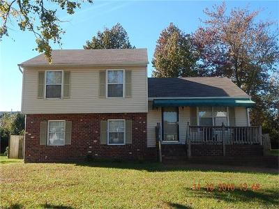 Henrico VA Single Family Home Sold: $150,000