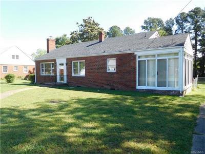 Hopewell Single Family Home For Sale: 405 Jefferson Avenue