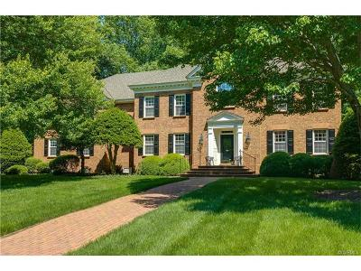 Chesterfield County Single Family Home For Sale: 3960 Reeds Landing Circle