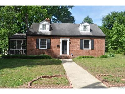 Petersburg Single Family Home For Sale: 1854 East Boulevard