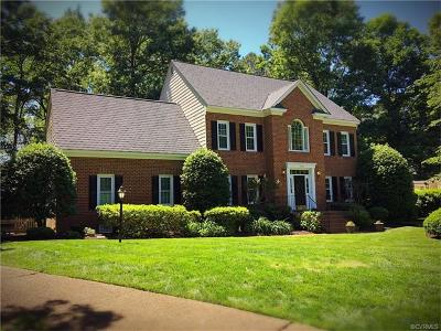 Richmond Single Family Home For Sale: 3100 Chestnut Grove Court