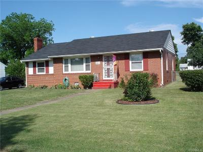 Richmond VA Single Family Home Sold: $114,500