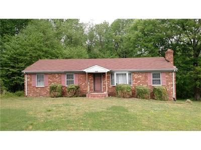 Hanover County Single Family Home For Sale: 6268 Mechanicsville Turnpike