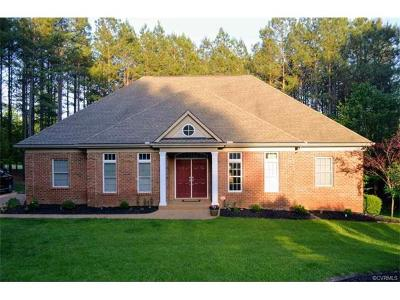 New Kent County Single Family Home For Sale: 11465 Pinewild Drive