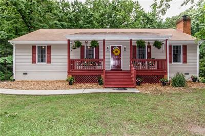 Dinwiddie Single Family Home For Sale: 12006 Millside Drive
