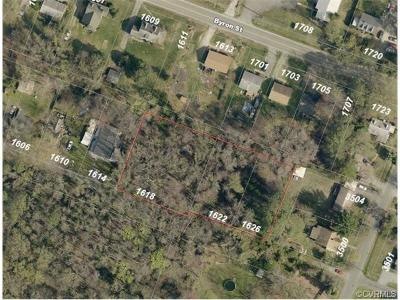 Henrico Residential Lots & Land For Sale: 1622 Rhudy Street